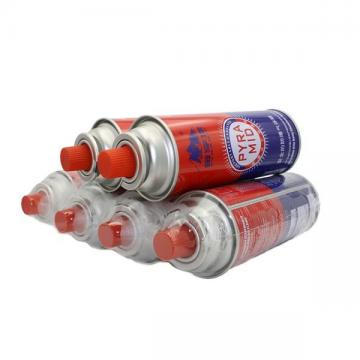 220GR NOZZLE TYPE butane gas refill canister Hebei products