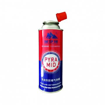 Fuel Energy Empty Tinplate Safety Powerful Butane Gas Canister for barbecue in the wild