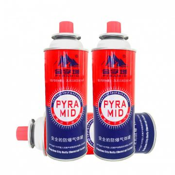 Safety Flame Control Good quality low pressure empty gas tank butane gas canister