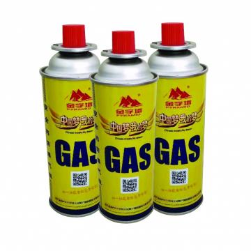 Portable stove gas cartridge For outdoor grills
