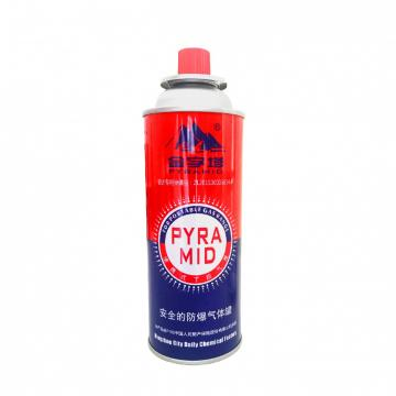 Customers Requirement Butane Gas Canister Refilling Aerosol Spray