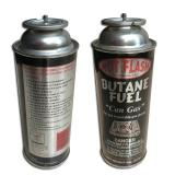 227g Round Shape Portable Straight Wall Type Butane Gas Can Tinplate Can with Offset Printing