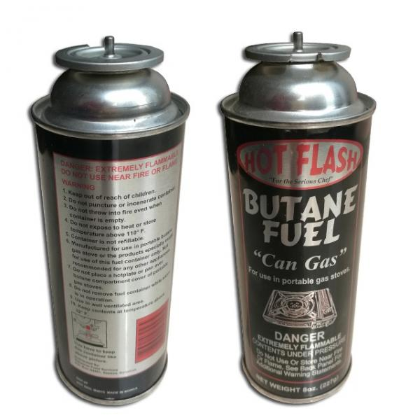 220G NozzleType Aerosol Can Empty Camping Refill Butane Gas Cartridge Canister #1 image