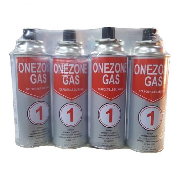 Lighter Gas Refill Wholesale refillable aerosol empty spray butane gas can with printing tin cans #3 image