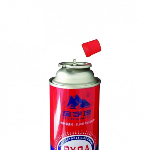 Industrial portable Straight Wall Aerosol Tinplate Can Butane Gas Container #1 image