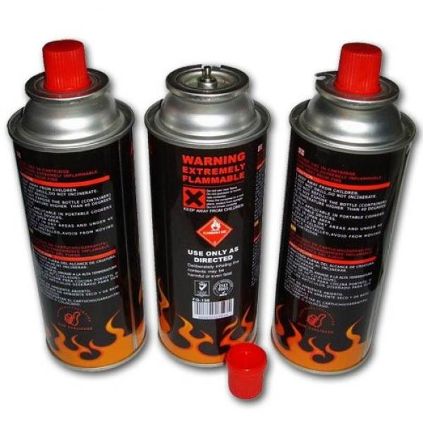 Butane gas canister BBQ Fuel Cartridge for portable gas stove #2 image